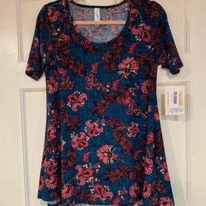 LuLaRoe multi-colored Perfect T shirt XXS NWT